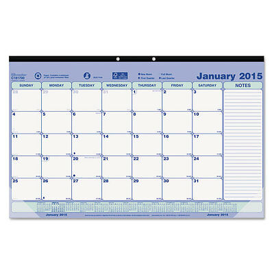 """Brownline Monthly Desk Pad Calendar, 17-3/4 X 10-7/8, 2016"""