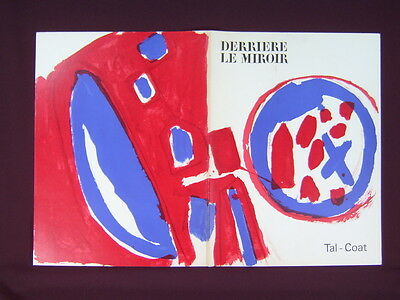 Art Catalogue-DLM 131-PIERRE TAL-COAT-LITHOGRAPH-Derriere le Miroir-1962
