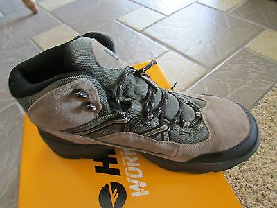 11426cd3244 NEW HI-TEC WATERPROOF Steel Toe Work Boots Mens 9.5 Bandera Pro Mid Steel  Toe