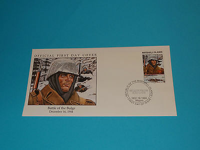 WWII FDC W85-1 Bastogne Germany Battle of Bulge * 50th Anniversary
