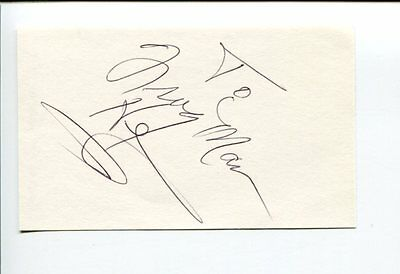 Clarence Frogman Henry Rhythm and Blues Singer Pianist Signed Autograph