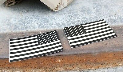 TMC Patch Emblem Reflective US American Flag for Shirt Pants Airsoft Dark