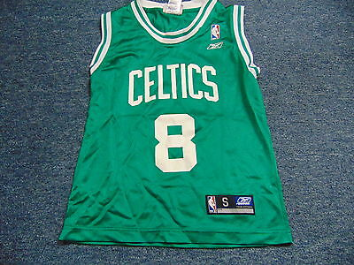 d9ddc5c8 VINTAGE REEBOK NBA Boston Celtics Antoine Walker Jersey Size Youth S ...