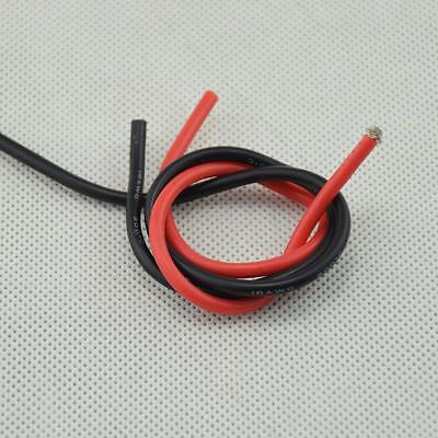 16 AWG (5m) Gauge #E Silicone Wire Flexible Stranded Copper Cables for RC New