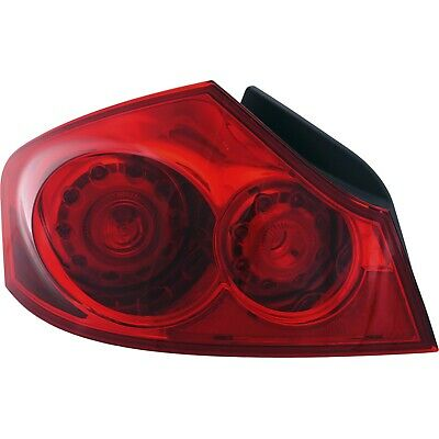 Partslink Number IN2882104 OE Replacement INFINITI G25 Tail Light Assembly