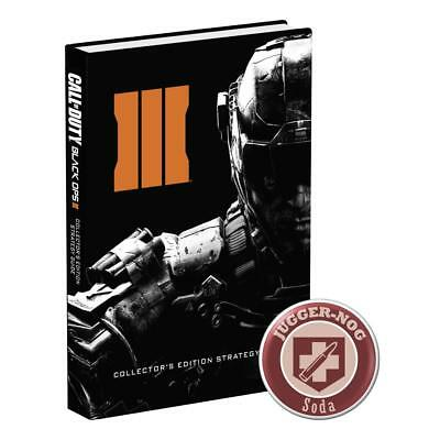 Call of Duty 12 Black Ops 3 III offiz. Engl. Lösungsbuch / Collectors Guide OVP