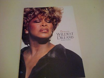 TINA TURNER Wildest Dreams World Tour 96 Programme