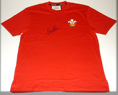 Sam Warburton Wales Captain  Personally Hand Signed Autograph Rugby Shirt
