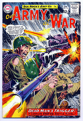 OUR ARMY AT WAR #141 VG, Joe Kubert c/a, Sgt. Rock's Easy Co., DC Comics 1964