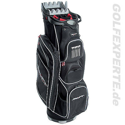 Shift Golf Cart Bag C2 Elevation Top Für Perfekte Organisation Black/white Neu