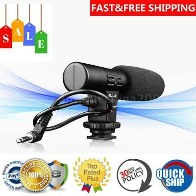 Professional Stereo Sound Podcast Studio Microphone For PC Camera Skype MSN 1X65