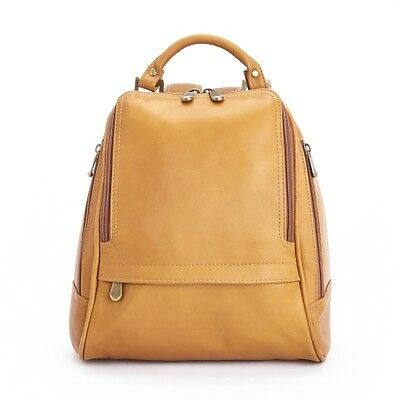 Royce Leather Luxury Women's Sling Backpack in Colombian Leather