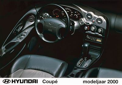 2000 Hyundai Tiburon Coupe Interior Automobile Photo Poster Korea zua3429-6NK7YT
