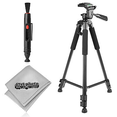"New 60"" Inch Pro Series Heavy Duty Universal Camera Tripod with Cleaning Kit"