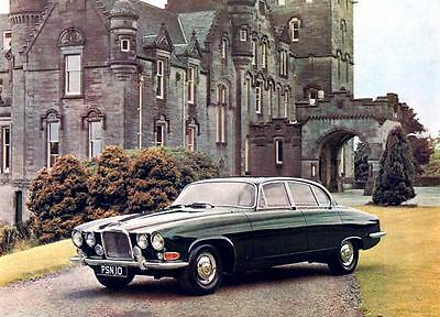 1963 Jaguar Mark 10 Saloon Automobile Photo Poster zua4629-LAMCX7