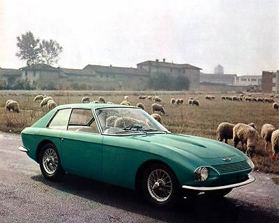 1963 Austin Healey 3000 Pininfarina Concept Automobile Photo Poster zua4734-31WB