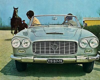 1967 Lancia Flaminia Convertible Automobile Photo Poster zua4918-4V1E9T