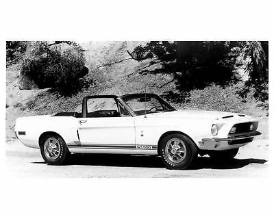1968 Shelby Mustang Automobile Photo Poster zua5937-3CSBOV