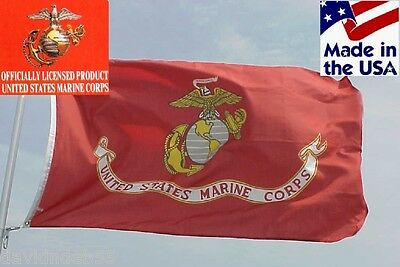 OFFICIAL USMC US Marine Corps MARINES 3x5 ft Indoor/Outdoor FLAG Banner*USA MADE