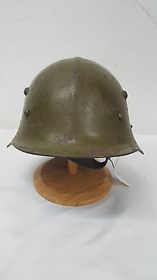 WWII Bulgarian Mod Helmet in Good shape with Liner