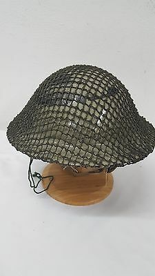 WWII US Doughboy with Net and Original Liner
