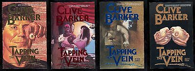 Clive Barker The Tapping Vein Run #1, 2, 3 and 4! Eclipse! Near Mint- 9.2 Run!