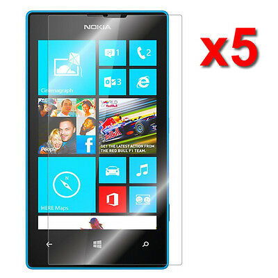 5X Crystal Clear LCD Screen Protector Film For Nokia Lumia 520 Phone Accessory