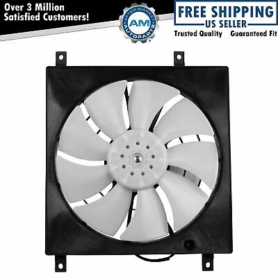 AC Condenser Cooling Fan Assembly for 07-13 Suzuki SX4 New