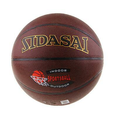Students Young Basketball PVC Match Training Game Ball Size 7 Orange