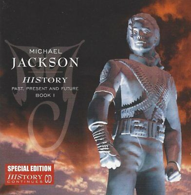 Michael Jackson - HIStory - Past, Present And Future Book I - CD Special Edition