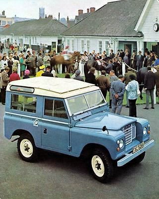 1972 Land Rover 88 Station Wagon Factory Photo m0997-QH7MPB