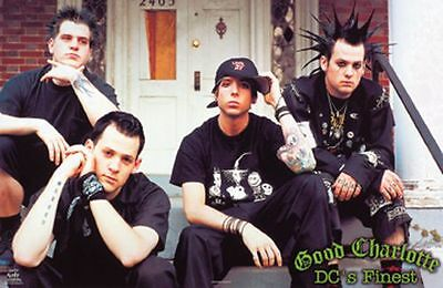"Good Charlotte Poster - 2002 - NEW 22.25"" x 34.5"" - Music"