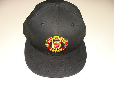 Manchester United New Era Hat Cap Premier League Soccer 59FIFTY Fitted 7 3/4