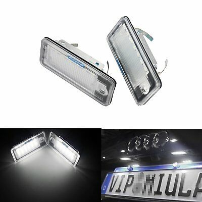 2X Audi Canbus LED License Number Plate Light A3 8P RS3 A4 S4 B6 B7 RS4 A6 A8 Q7