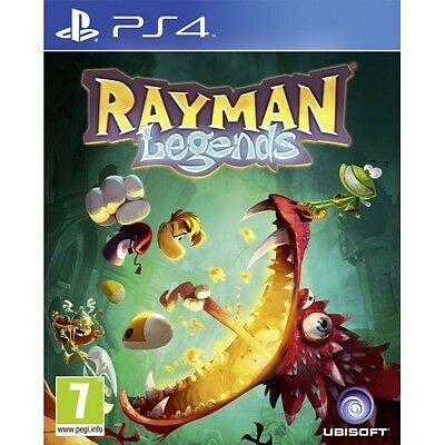 Rayman Legends Game PS4 Sony PlayStation 4 PS4 Brand New FACTORY SEALED
