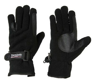 Dublin Everyday Fleece/Thinsulate Riding Gloves - Size Small - Closeout
