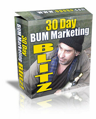 BUM MARKETING Success - Article Traffic Software And PDF - Your 30 Day Plan (CD)