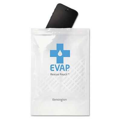 """Kensington Evap Wet Electronics Rescue Pouch, White"""