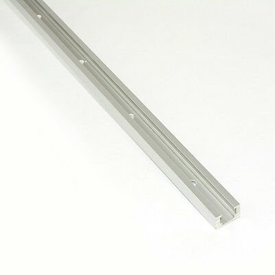 19818 Double-Cut Profile Universal T-Track with Predrilled Mounting Holes 48inch