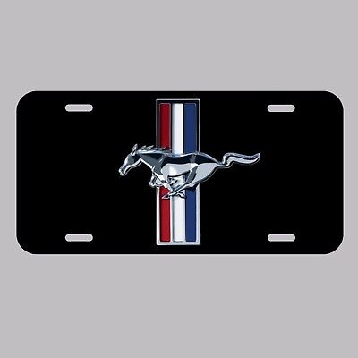 Ford Mustang License Plate Made In The USA Metal New car tag  hot rod