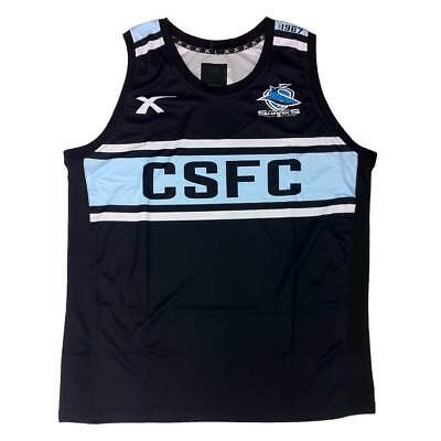 X Blades Cronulla Sharks Training Singlet [black]