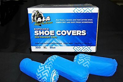 300 DISPOSABLE SHOE COVERS NON-SKID MEDICAL BOOTIES HOSPITAL / XL / To Size 13