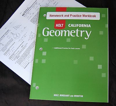 Holt geometry student homework practice workbook w answer key holt geometry student homework practice workbook w answer key high school new fandeluxe Gallery