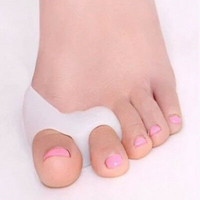 2 pcs Gel Forefoot Metatarsal Toe Silicone Cushion Insoles Orthotics Pad Relief