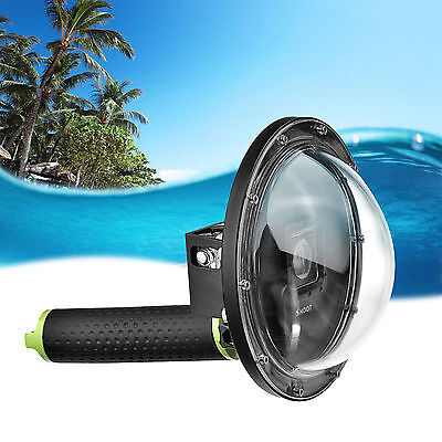 """SHOOT 1.0 Version 6""""Dome Port Lens Diving Camera Cover Housing f GoPro Hero 3+/4"""