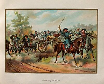 USA Cavalry Bürgerkrieg Civil War Petersburg Campaign Union Artillery Trompeter