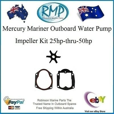 A New Mercury Mariner Water Pump Impeller Kit 25hp-thru-50hp # R 47-85089 Nice