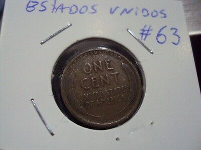 United States Cent 1910 Coin # 63
