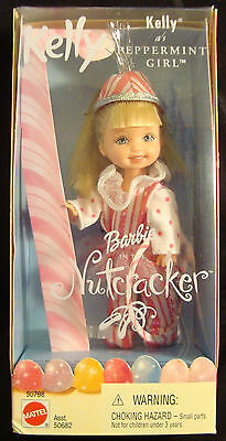 Barbie-Kelly- In The Nutcracker-Kely As Peppermint Girl -2001-Unique-Rare-New