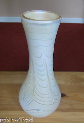 "JOHN DITCHFIELD MADE THIS UNIQUE COLLECTION SIGNED VASE 28cm 11"" high, PERFECT"